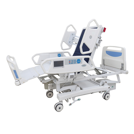 E5 Eight function electric hospital bed