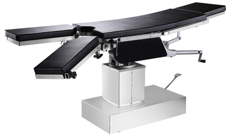 Medical Equipment Gas Spring Manual Hydraulic Operating Table